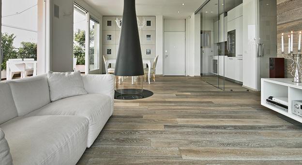 Luxury Vinyl Planks - Distressed Wood Effect
